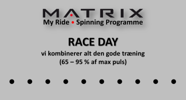 Spinning RACE DAY