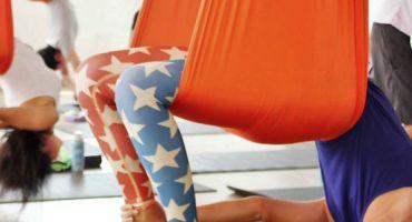 Aerial Yoga - vægtløs og opløftende træning