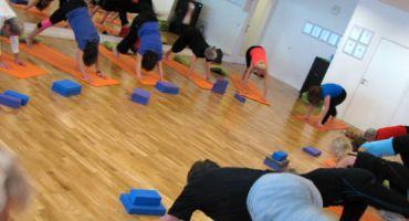 Yoga - aktivt og energifyldt