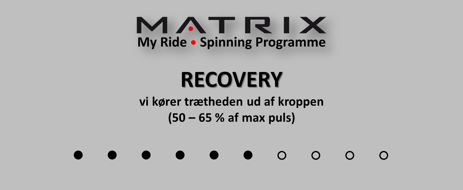 MATRIX Spinning RECOVERY