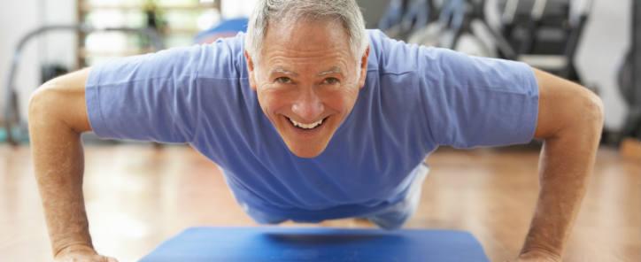 Senior træning reduceret